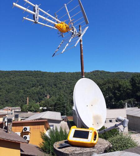 Instal·lació d'antena