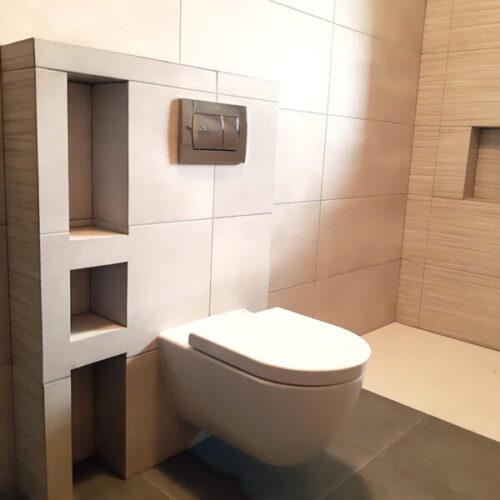 WC encastat